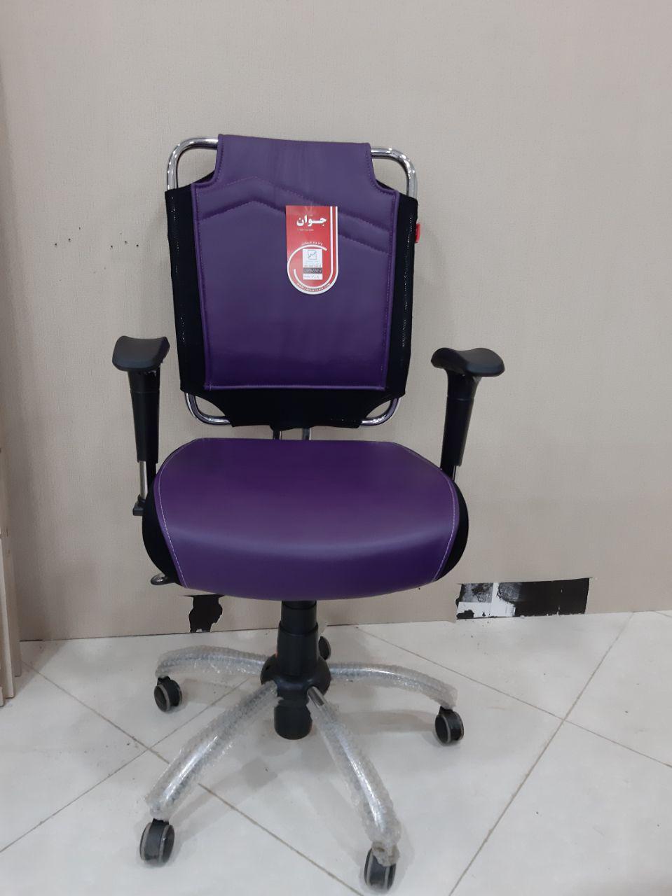 صندلی اداری کارشناسی کارمندی جوان مدل J608