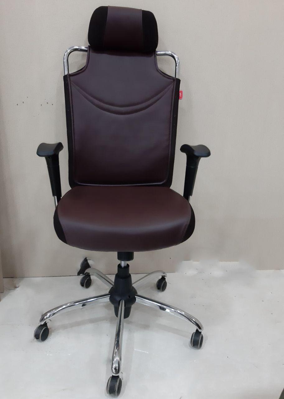 صندلی اداری کارشناسی کارمندی زیر سری دار جوان مدل J608A
